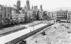 Els començaments de la Via Laietana  - Urbanització fins a Plaça de l'Àngel