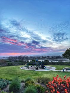 As viewed from Backview Park in Newport Beach, CA Newport Beach, Golf Courses, Sunrise, California, Park, Parks, Sunrises