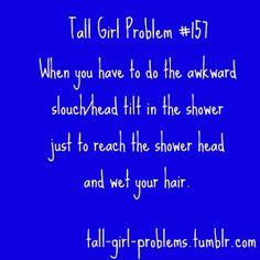 Tall Girl Problems - so true