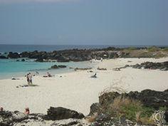 Manini'owali Beach at Kua Bay in Kona, Big Island, Hawaii   Along Queen Kaahumanu Highway   GPS: 19.809346, -156.005977