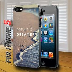 Dream on Dreamer - design case for iphone 5 | shayutiaccessories - Accessories on ArtFire