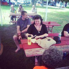#ernesthancock #porcfestx #freedomsphoenix  Carla holding court #Padgram
