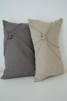 starburst linen accent pillow $56
