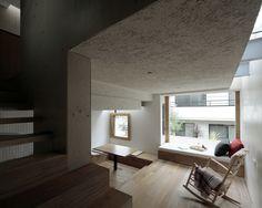 Licht und Schatten ohne Türen - Haus in Tokio von Daisuke Ibano