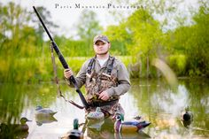 Rockmart, GA Senior Portrait Photographer | Fly Fishing | Duck Hunting| Spring Lake Events ~ Paris Mountain Photography Blog