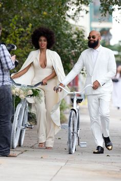 Modern bride - Solange Knowles