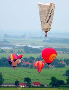 Joure, Netherlands ~ Annual International Balloon Festival in June Copyright: Mehmet Yozgatli