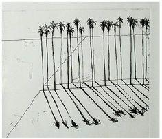 vjeranski | Wayne Thiebaud (American, b. 1920) Palms, 1965 ...