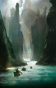 fantasyartwatch:  The Pillars of Kings by Unknown