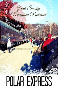 My family and I recently rode the Polar Express Train Ride in the Smoky Mountains of North Carolina.  Here's everything you need to know before you go.