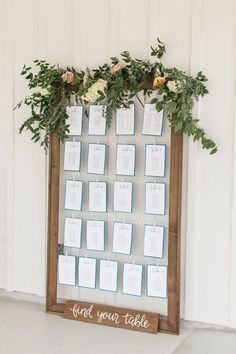 The Farmhouse Wedding by Erin Wilson – Southern Weddings – Diy Wedding 2020 Wedding Table Seating, Wedding Reception Decorations, Wedding Centerpieces, Wedding Table Assignments, Decor Wedding, Wedding Favors, Wedding Ideas, Plan Your Wedding, Wedding Planning