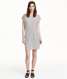 $17.99 Striped Jersey Dress | H&M US