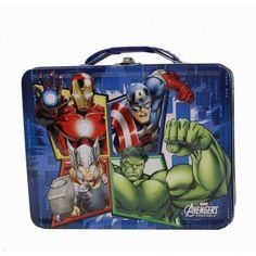 Avengers Assemble Group Grid Tin Lunch box