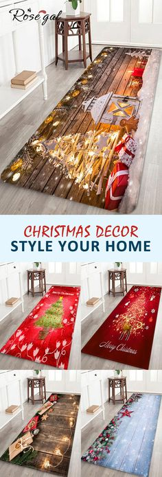 Up to off, Rosegal Christmas home decor floor decoration holiday style shower mats entrance mats bathroom rugs for Halloween Holiday Fun, Holiday Crafts, Holiday Decor, Holiday Style, Interior Design Minimalist, Minimalist Decor, Minimalist Bedroom, Minimalist Kitchen, Minimalist Living