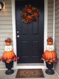 Fall decor- I only need to do one of these in our prim barrel!