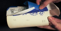 Carbon Copy: Transfer Paper Makes it Easy to Transfer Customized Underglaze Images