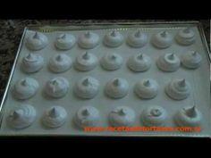 ▶ Receta de Merengue - Merenguitos - Suspiros - Recetas de Torta YA! - YouTube