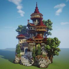 Minecraft Pixel, Minecraft Villa, Minecraft Building Guide, Minecraft House Plans, Minecraft Mansion, Minecraft Cottage, Minecraft Structures, Cute Minecraft Houses, Amazing Minecraft