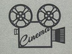 Caméra de cinéma personnalisée et bobines salles par Motorheadart