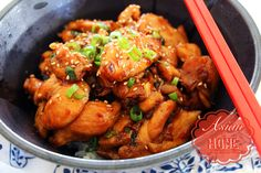 Easy and Healthy Orange Chicken Recipe and Video