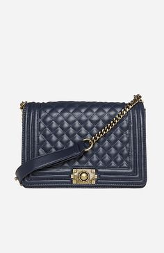 Large Classic Quilted Purse