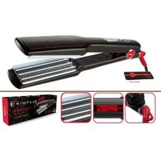 Itech Crimper Professional Hair Crimping Styling Tool 1 Ea Iron