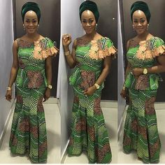 Weekend Special: Step Up Your Style Game in these Trendy & Timeless Ankara Styles - Wedding Digest Naija African Dresses For Women, African Print Dresses, African Print Fashion, Africa Fashion, African Attire, African Wear, African Fashion Dresses, African Women, African Prints