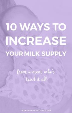 How To Increase Milk Supply | Nursing a baby can be really difficult, especially if you don't produce enough milk. If you're struggling to produce enough milk to breastfeed your infant or baby then please click through to read the top herbs and products that have provided a tremendous help in producing a quality milk supply.