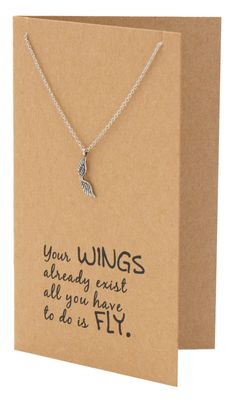 Adannaya Graduation Gifts for Her, Wing Necklace, Graduation Jewelry, – Quan Jewelry – 3 Source by shelleyheistand Graduation Gifts For Best Friend, High School Graduation Gifts, College Graduation Gifts, College Gifts, Best Friend Gifts, Gifts For Friends, Gifts For College Graduates, Graduation Ideas, 8th Grade Graduation