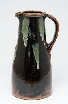 Tenmoku jug by Jim Malone. Perfection.
