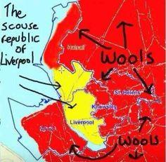 Scouse republic of Liverpool....Love it!!