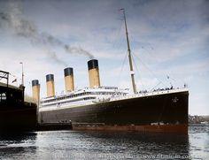 TITANIC EM FOCO: O Titanic em cores: As fantásticas colorizações de Anton Logvinenko