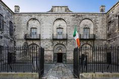 in 1796 – Kilmainham Gaol in Dublin receives its first prisoners. – Stair na hÉireann/History of Ireland Dublin Map, Dublin Hotels, Visit Dublin, Dublin City, Dublin Ireland, Ireland Travel, Most Haunted, Haunted Places, Spain