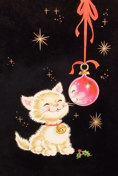 Christmas Happy Cat.