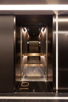 Make Completes High Rise Luxury Residential Tower in Wan Chai – Architecture Modern Residential Architecture, Architecture Résidentielle, Cultural Architecture, Residential Interior Design, Design Entrée, Lift Design, Perspective Architecture, Elevator Lobby Design, Copacabana Palace