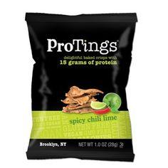 Goda och nyttiga chips, fyllda av protein och andra nyttigheter! Utan socker och gluten. ✔Proteinchips online ✔Fri frakt över 500 kr ✔Snabb leverans 2-4 dagar