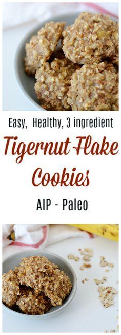 Tigernut Flake Cookies (AIP/Paleo) * Lichen Paleo, Loving AIP