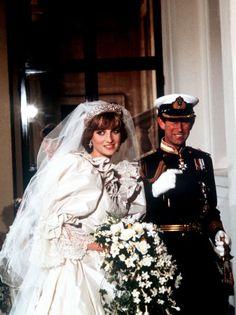 Fairy tale wedding on July 29, 1981  Prince Charles & Princess Diana.