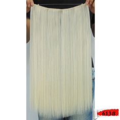 toyokalon hair extension 20 inch 50g blonde color 613 straight white girl extensions sintetico cabelo extensiones flip in     #http://www.jennisonbeautysupply.com/  #<script     http://www.jennisonbeautysupply.com/products/toyokalon-hair-extension-20-inch-50g-blonde-color-613-straight-white-girl-extensions-sintetico-cabelo-extensiones-flip-in/,              Flip in hair weaving       Net weight:    about 5   0g       Length:    about 20   inch(50cm)       width: about 11inch(28cm)     ...