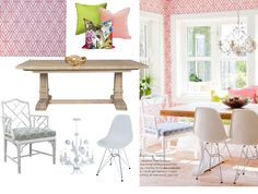 Bring Palm Beach into your dining room! Shop the look here: