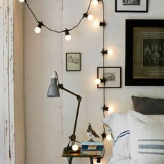 How To Hang String Lights Indoors Entrancing Decorating With Outdoor Hanging Globe Lights Indoors  Pinterest Decorating Inspiration