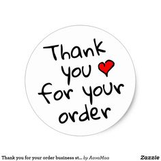 Shop Thank you for your order business stickers created by AavaMaa. Baking Logo Design, Oil Quote, Happy Birthday Tag, Tupperware Consultant, Food Graphic Design, Business Thank You Cards, Thank You For Order, Appreciation Quotes, Thank You Quotes