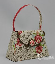 New Petite Purse Die from Stampin' Up! So cute!