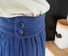 pour mes jolis mômes, mais pas que...: Ma jupe bohème en tissu lange (tuto)