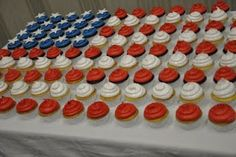 AHG Ceremonies: We ordered these cupcakes for our award/crossover ceremony.