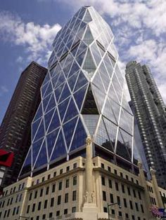 Hearst Tower, New York.  One of my favorite newer building in town.