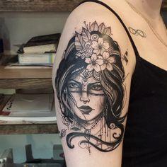 Quebec Tattoo Shops : Vicky Filiault