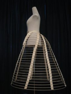 Early 1860s cage crinoline. Collection of Anton Priymak.
