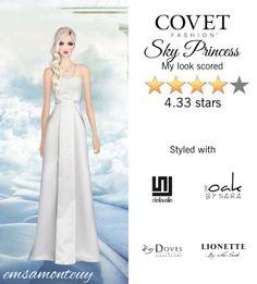 Sky Princess @covetfashion  #covet #covetfashion #fashion #covetfall2015 #fall2015 #womensfashion #princess #skyprincess #white #raoul #oneoakbysara