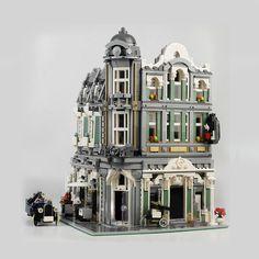 Minecraft Museum, Minecraft Houses, Roman City, Lego Modular, Lego Room, Lego House, Stage Set, Cool Lego